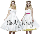 Oh My Honey - 50s Inspired Wedding Dresses