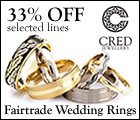 Ethical wedding rings | CRED Jewellery