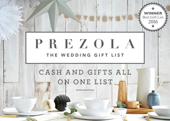 Prezola| Wedding Gift List of the Year